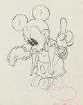 Animation Art:Production Drawing, Mickey's Amateurs Mickey Mouse Animation Drawing (WaltDisney, 1937)....