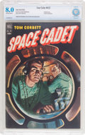 Golden Age (1938-1955):Science Fiction, Four Color #421 Tom Corbett, Space Cadet (Dell, 1952) CBCS VF 8.0Off-white to white pages....