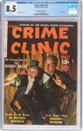 Golden Age (1938-1955):Crime, The Crime Clinic #11 (#2) Mile High Pedigree (Ziff-Davis, 1951) CGC VF+ 8.5 White pages....