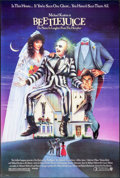 """Movie Posters:Comedy, Beetlejuice (Warner Brothers, 1988). One Sheet (27"""" X 40.25"""") SS, Carl Ramsey Artwork. Comedy.. ..."""