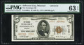 National Bank Notes:Missouri, Jefferson City, MO - $5 1929 Ty. 2 The Exchange NB Ch. # 13142. ...