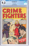 Golden Age (1938-1955):Crime, Crimefighters #4 Mile High Pedigree (Marvel, 1948) CGC NM- 9.2 White pages....