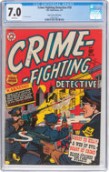 Golden Age (1938-1955):Crime, Crime-Fighting Detective #18 Mile High Pedigree (Star Publications, 1952) CGC FN/VF 7.0 White pages....