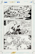 Original Comic Art:Panel Pages, John Paul Leon, Mike Zeck, Bill Reinhold, and Denis Rodier Challengers of the Unknown #16 Story Page 19 Original A...