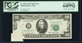 Error Notes:Foldovers, Fr. 2072-G $20 1977 Federal Reserve Note. PCGS Very Choice New64PPQ.. ...