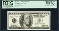 Error Notes:Miscellaneous Errors, Fr. 2176-J $100 1999 Federal Reserve Note. PCGS Choice About New58PPQ.. ...