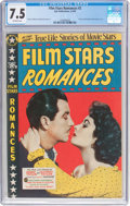 Golden Age (1938-1955):Romance, Film Stars Romances #2 (Star Publications, 1950) CGC VF- 7.5Off-white pages....
