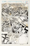 Original Comic Art:Panel Pages, Manny Galan, Jim Amash, and Marie Severin Transformers:Generation 2 #3 Story Page 8 Original Art (Marvel, 1994)....