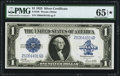 Large Size:Silver Certificates, Fr. 238 $1 1923 Silver Certificate PMG Gem Uncirculated 65 EPQ*.....