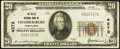 National Bank Notes, Chambersburg, PA - $20 1929 Ty. 1 The Valley NB Ch. # 4272. ...