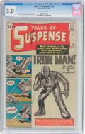 Silver Age (1956-1969):Superhero, Tales of Suspense #39 (Marvel, 1963) CGC GD/VG 3.0 Off-white pages....