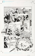 Original Comic Art:Panel Pages, Tatsuya Ishida and Scott Reed GI Joe #4 Story Page 14Original Art (Dark Horse, 1996)....