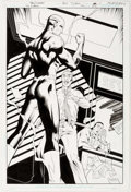 Original Comic Art:Splash Pages, Tony Daniel, Art Thibert, and Jonathan Glapion Flash: TheFastest Man Alive #12 Splash Page 1 Original Art (DC, 20...