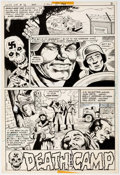 Original Comic Art:Splash Pages, Juan Ortiz Weird War Tales #72 Splash Page 1 Original Art(DC Comics, 1979)....