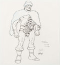 Animation Art:Concept Art, Russ Heath Conan the Adventurer Zula Concept DrawingOriginal Art (Sunbow, 1992)....