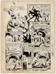 Murphy Anderson Planet Comics #40 Story Page 6 Star Pirate Original Art (Fiction House, 1946)