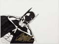 Original Comic Art:Sketches, J. Scott Campbell - Batman Sketch Original Art (undated)....