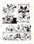 Original Comic Art:Panel Pages, John Buscema Wolverine: Bloody Choices #nn Graphic NovelStory Page 15 Original Art (Marvel, 1991)....
