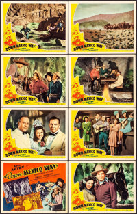 """Down Mexico Way (Republic, 1941). Lobby Card Set of 8 (11"""" X 14""""). Western. ... (Total: 8 Items)"""
