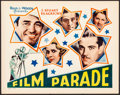 "Movie Posters:Documentary, The Film Parade (Alliance, 1933). Title Lobby Card (11"" X 14""). Documentary.. ..."