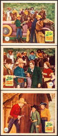 """Movie Posters:Western, The Old Corral (Republic, 1936). Lobby Cards (3) (11"""" X 14""""). Western.. ... (Total: 3 Items)"""