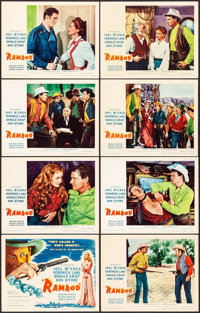 "Ramrod (United Artists, 1947). Lobby Card Set of 8 (11"" X 14""). Western. ... (Total: 8 Items)"