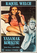 "Movie Posters:Crime, Flareup & Others Lot (MGM, 1970). Turkish One Sheet (27.5"" X39.25""), French Moyenne (23"" X 31.25""), and Japanese Mini Poste...(Total: 3 Items)"