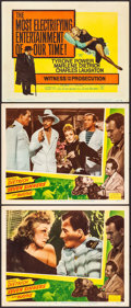 """Movie Posters:Adventure, Seven Sinners & Other Lot (Eagle Lion, R-1948). Lobby Cards (2) & Title Lobby Card (11"""" X 14""""). Adventure.. ... (Total: 3 Items)"""