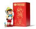 Fine Art - Sculpture, American:Contemporary (1950 to present), KAWS X Disney. Pinocchio & Jiminy Cricket, 2010. Paintedcast vinyl. 10-1/4 x 5 x 4-1/2 inches (26 x 12.7 x 11.4 cm) (Pi...