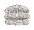 Estate Jewelry:Rings, Diamond, White Gold Ring, Cartier, French. ...