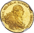 German States:Prussia, German States: Prussia. Friedrich Wilhelm II gold Frederick d'Or1796-A MS63 NGC,...