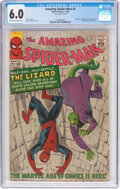 Silver Age (1956-1969):Superhero, The Amazing Spider-Man #6 (Marvel, 1963) CGC FN 6.0 Off-wh...