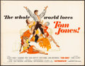 "Movie Posters:Academy Award Winners, Tom Jones (United Artists, 1963). Half Sheet (22"" X 28""). Academy Award Winners.. ..."