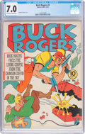 Golden Age (1938-1955):Science Fiction, Buck Rogers #3 (Eastern Color, 1941) CGC FN/VF 7.0 Off-white towhite pages....