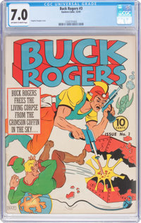 Buck Rogers #3 (Eastern Color, 1941) CGC FN/VF 7.0 Off-white to white pages