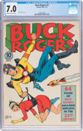 Golden Age (1938-1955):Science Fiction, Buck Rogers #2 (Eastern Color, 1941) CGC FN/VF 7.0 Cream tooff-white pages....