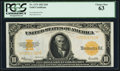 Large Size:Gold Certificates, Fr. 1173 $10 1922 Gold Certificate PCGS Choice New 63.. ...