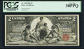 Large Size:Silver Certificates, Fr. 248 $2 1896 Silver Certificate PCGS Very Fine 30PPQ.. ...