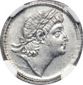 Ancients:Roman Imperial, Ancients: Constans (AD 337-350). AR siliqua (20mm, 3.33 gm, 7h). NGC Choice AU 5/5 - 2/5, lt. smoothing....