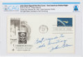 Explorers:Space Exploration, John Glenn: Mercury-Atlas 6 (Friendship 7) Signed Launch/ First Day Cover Inscribed to the Armstrongs, Directly Fr...