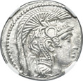 Ancients:Greek, Ancients: ATTICA, Athens. Circa 165-42 BC. AR Tetradrachm (29mm, 16.92 gm, 11h). NGC Choice AU 4/5 - 5/5....