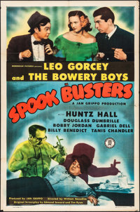 """Spook Busters (Monogram, 1946). Folded, Very Fine-. One Sheet (27"""" X 41""""). Comedy"""