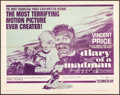 """Movie Posters:Horror, Diary of a Madman (United Artists, 1963). Half Sheet (22"""" X 28"""").Horror.. ..."""