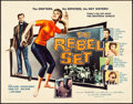 "Movie Posters:Exploitation, The Rebel Set & Other Lot (Allied Artists, 1959). Half Sheets(2) (22"" X 28""). Exploitation.. ... (Total: 2 Items)"