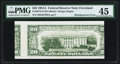 Error Notes:Skewed Reverse Printing, Fr. 2074-D $20 1981A Federal Reserve Note. PMG Choice ExtremelyFine 45.. ...