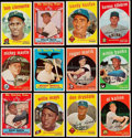 Baseball Cards:Sets, 1959 Topps Baseball Near Set (570/572). ...