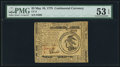 Colonial Notes:Continental Currency, Continental Currency May 10, 1775 $3 PMG About Uncirculated 53 EPQ.. ...