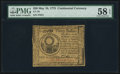 Colonial Notes:Continental Congress Issues, Continental Currency May 10, 1775 $30 PMG Choice About Unc 58 EPQ.. ...