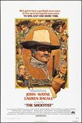 "Movie Posters:Western, The Shootist (Paramount, 1976). One Sheet (27"" X 41"") Richard Amsel Artwork. Western.. ..."