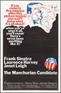 """Movie Posters:Thriller, The Manchurian Candidate (United Artists, 1962). One Sheet (27"""" X 41""""). Thriller.. ..."""